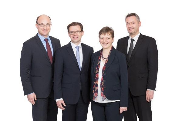 Beratungsunternehmen ConPlusUltra, Managementboard: DI Andreas Karner, DI Josef Wolfbeißer, Mag. Mag.(FH) Brigitte Hatvan und Ing. Heinrich Preiss