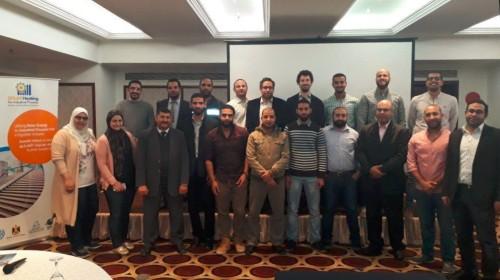 Teilnehmerinnen und Teilnehmer der Ausbildung in Ägypten