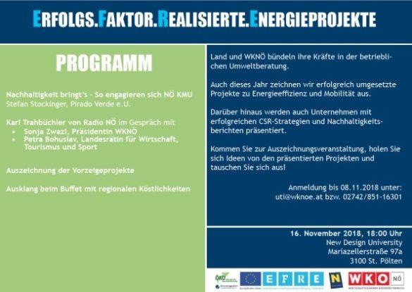 Einladung Veranstaltung Energieprojekte