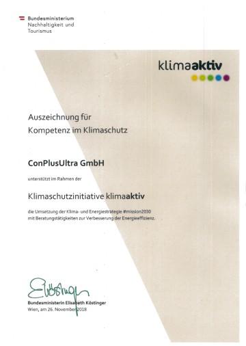 Foto_Urkunde_Auszeichnung_klimaaktiv