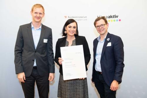 klimaaktiv Fachtagung und Auszeichnung energieeffizienter Betriebe
