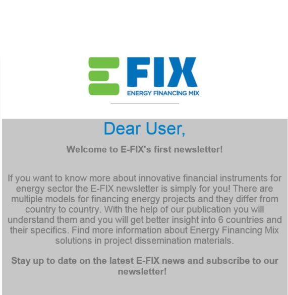 Bild E-Fix Newsletter