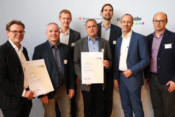 Auszeichnung Klimaaktiv ConPlusUltra mit STIHL Tirol