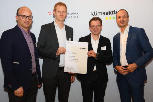 kompetenz im klimaschutz Auszeichnung 2019 für ConPlusUltra