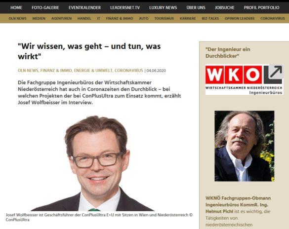 screenshot LEADERSNET Interview_Bild Josef Wolfbeisser