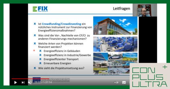 screenshot of secon Ambassodor training E-FIX project