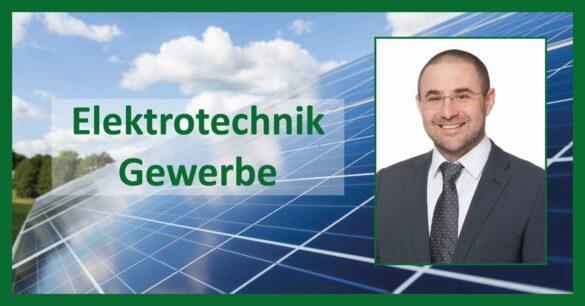Gewerberechtlicher Geschäftführer Elektrotechnik DI Josef Buchinger